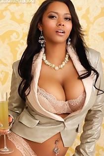 Esther Baxter Hot Assed Ebony Supermodel