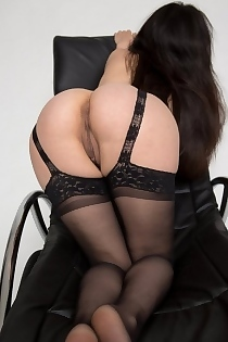 Adele In Sexy Stockings